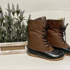 Totes winter rain duck boots